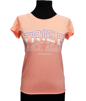 TRICOU CROPP NEON ORANGE